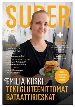 SuPer-lehti kansi 11/2018