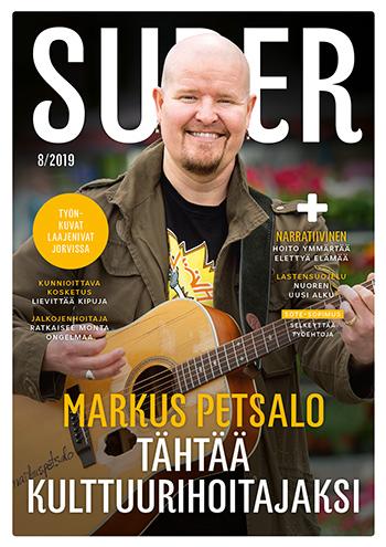 SuPer-lehti kansi elokuu 2019