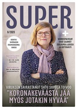 SuPer-lehti kansi kesäkuu 2020