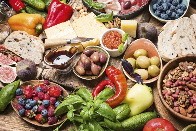 ruoan värit ja ravintoaineet