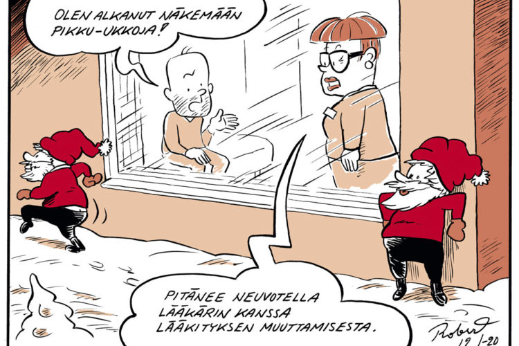 Hoitajan joulu