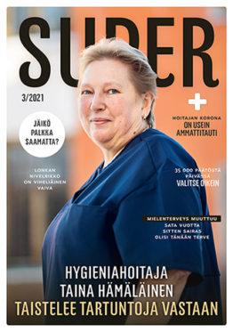 SuPer-lehti kansi maaliskuu 2021